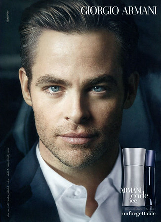 ARMANI Code Ice 2014 Belgium 'The new freahness - The classic - Unforgettable'
