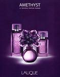 LALIQUE Amethyste 2007 Italy 'Le nouveau parfum f�minin'