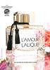 LALIQUE L'Amour 2015 UK 'Voted Best Female Fragrance Exclusive Brands 2014 - Cosmétique Mag Les Oscars 2014 - An Elixir of pure seduction'