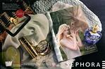 LOLITA LEMPICKA Le Premier Parfum  double page 2012 France (Sephora stores) 'Dans le sac d'une femme... - Les parfums mythiques'