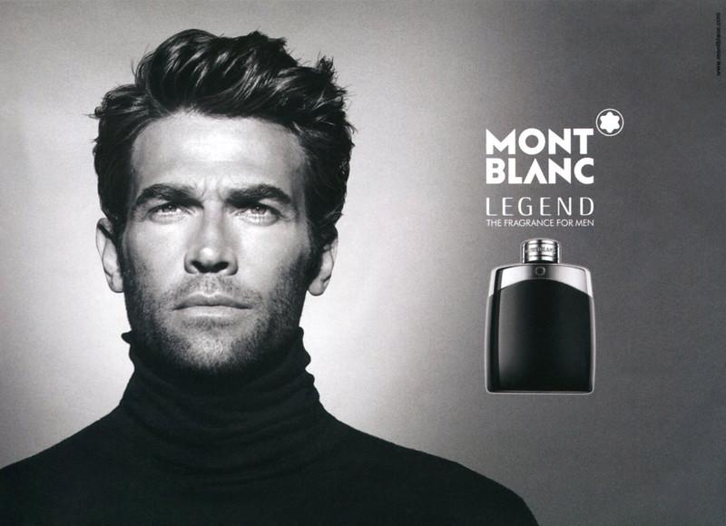 MONTBLANC Legend 2015 UK half page 'The fragrance for men'