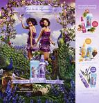 SECRET Ooh La La Lavender body splashes 2010 US  (simple page & associated third page)